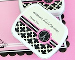 Personalized Mint Tins - Parisian Party wedding favors