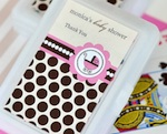 Personalized Playing Cards - Pink Baby  wedding favors