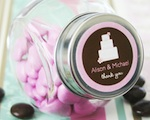 Theme Candy Jars wedding favors