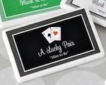 Personalized Vegas Mini Mint Favors wedding favors