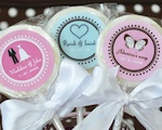 """Something Sweet"" Theme Personalized Lollipop Favors wedding favors"