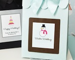 Sweet Shoppe Candy Boxes - Winter wedding favors