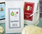 """A Winter Holiday"" Sugar Cookie Mix wedding favors"