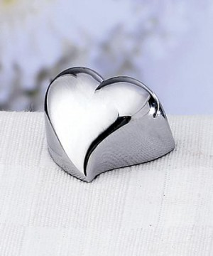 Contemporary Design Heart Place Card Holders wedding favors