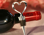 Heart Wine Bottle Stoppers wedding favors