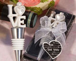 LOVE Themed Bottle Stoppers wedding favors