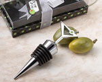 Marvelous Martini Design Wine Bottle Stoppers wedding favors