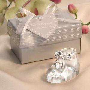 Choice Crystal - Baby Shoe wedding favors