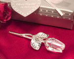 Choice Crystal - Long Stem Rose wedding favors