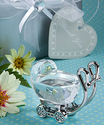 Choice Crystal - Baby Carriage wedding favors