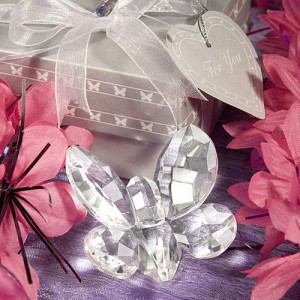 Choice Crystal Butterfly Favor wedding favors
