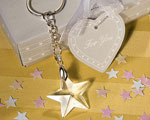 Star Light Crystal Star Keychains wedding favors