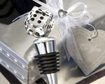 Choice Crystal Die Bottle Stopper wedding favors