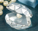 Choice Crystal Clamshell Favors wedding favors