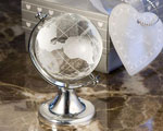 Choice Crystal Globe Favor wedding favors