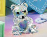 Choice Crystal Collection Teddy Bear Figurines - Boy wedding favors