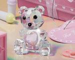 Choice Crystal Collection Teddy Bear Figurines - Girl wedding favors