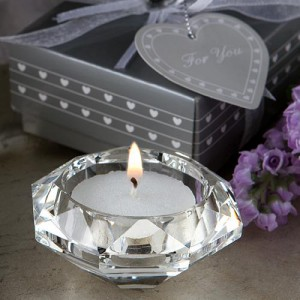 Choice Crystal Collection Diamond Candle Holder Favors wedding favors