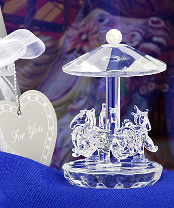 Choice Crystal Collection Carousel Favors wedding favors