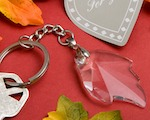 Choice Crystal Collection Leaf Key Chain Favors wedding favors
