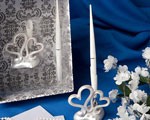 Interlocking Hearts Design Wedding Pen Set wedding favors
