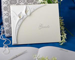 Calla Lily Design Wedding Guest Book wedding favors