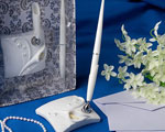 Calla Lily Design Wedding Pen Set wedding favors
