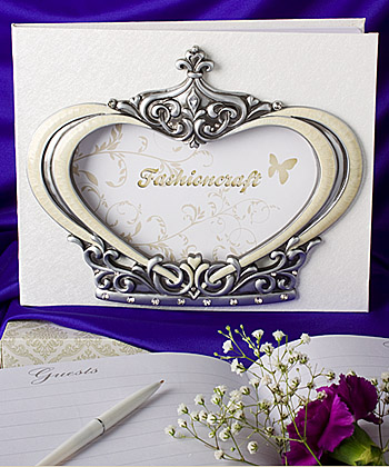 Royal Wedding Collection Guest Books wedding favors