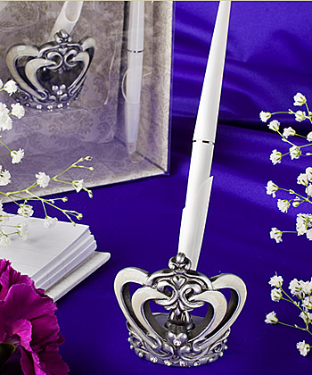 Royal Wedding Collection Pen Set wedding favors