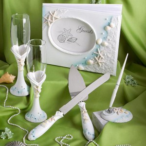 Finishing Touches Collection Of Beach Themed Wedding Day Accessories wedding favors