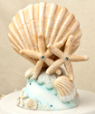 Life's a Beach Collection cake topper wedding favors