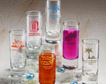 Shooter Glass wedding favors