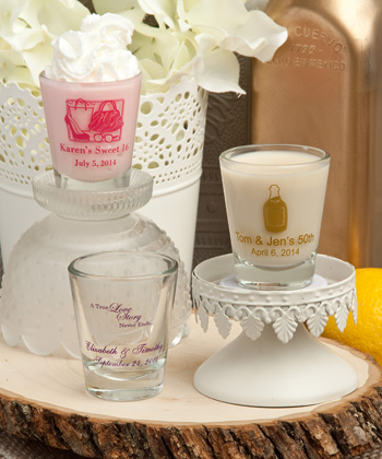 Design Your Own Collection shot glasses wedding favors
