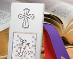 Shining Cross Picture Frame wedding favors