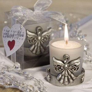 Angelic Candle Holder Favors wedding favors