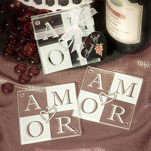 Glass Wedding Favors