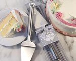 Amore Stainless Steel Cake Server wedding favors