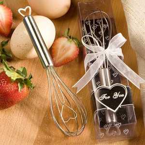 Heart Design Wire Whisk Favors wedding favors