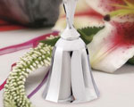 Silver Wedding Bells wedding favors