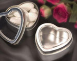 Heart Shaped Boxes / Mint Tins wedding favors