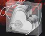 Cut Out For Love(r) Cookie Cutters wedding favors