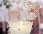 Butterfly-design Candleholders / Place Card Holders wedding favors