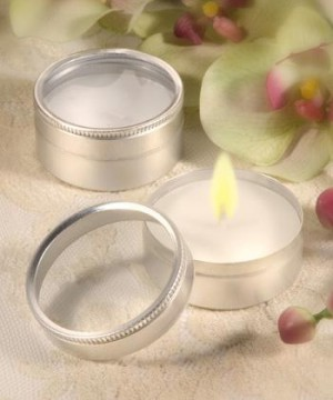 Travel Candle wedding favors