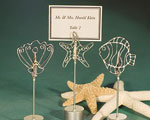 Ocean Themed Place Card Holder Favors wedding favors