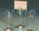 Butterfly Design Place Card Holders wedding favors