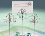 Cinderella-style Place Card Holder Favors wedding favors