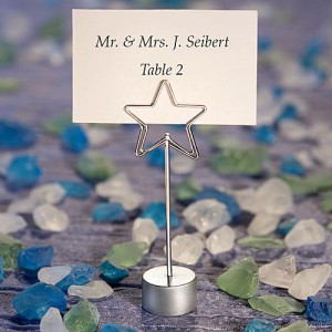 Shining Star Design Place Card Holder Favors wedding favors