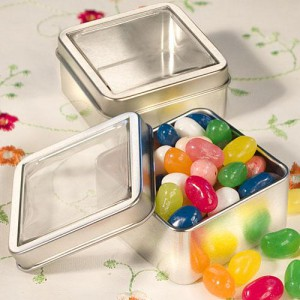 Clear Top Mint Tin Favors wedding favors