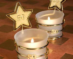 Gold Star Design 50th Anniversary Celebration Favors wedding favors