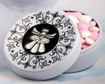 Angel Design Mint Tins wedding favors